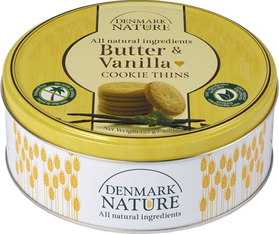 Denmark Nature Butter-Vanilla 150gr