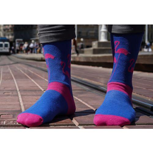 Chili čarape - Banderole Flamingo