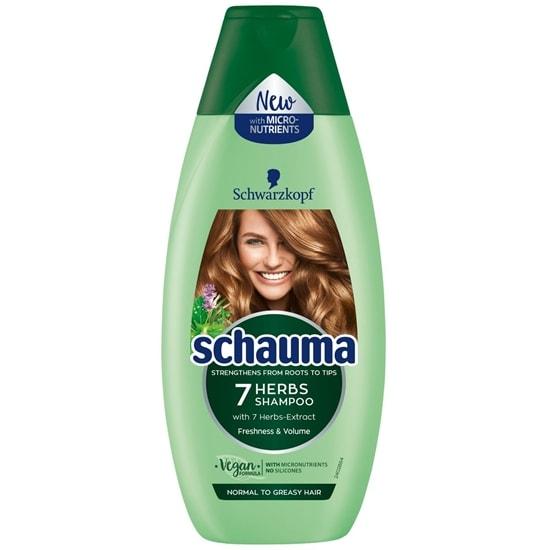 Šampon Schauma 7 trava 400 ml