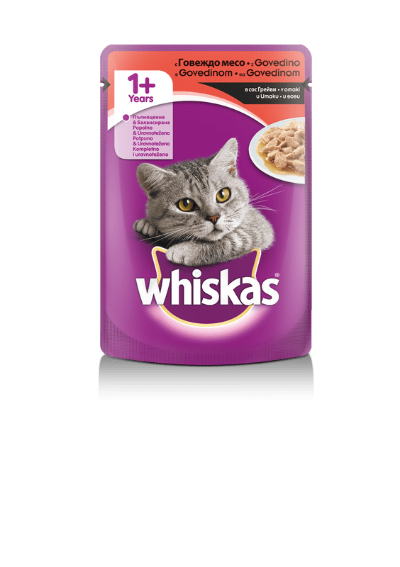 Whiskas vrećica 100 g sort