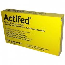 Actifed comp X 20