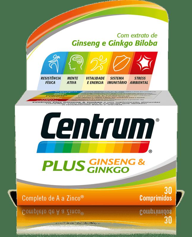 Centrum Plus Ginseng Ginkgo Compx30 comps