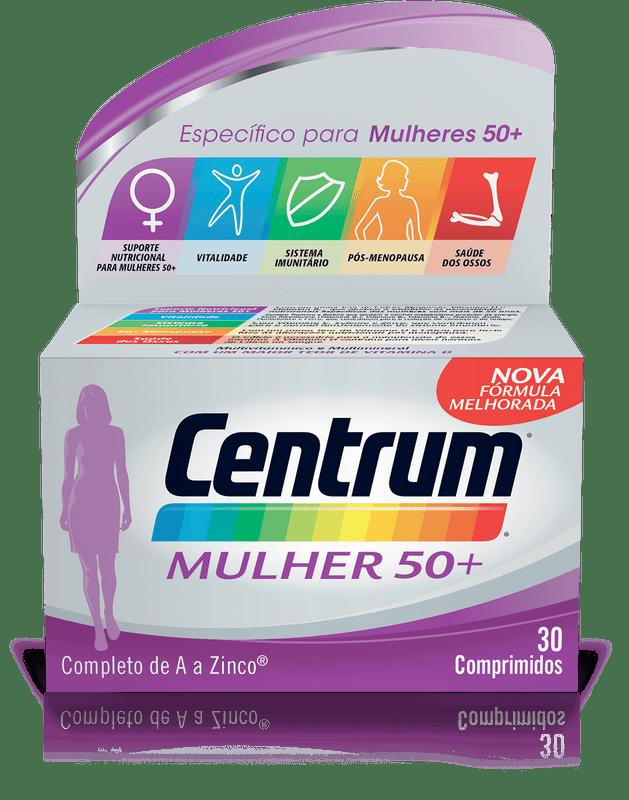 Centrum Mulher50+ Comp X 30 comp