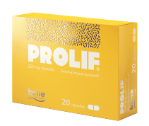 Prolif 250 Mg 20 Cápsula