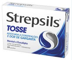 Strepsils Tosse 1.2 Mg + 0.6 Mg 24 Pastilha