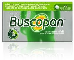 Buscopan comp revestido 10 mg X 20