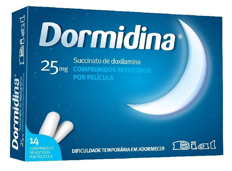 Dormidina 25 Mg 14 Comp. Revest. Por Pel.