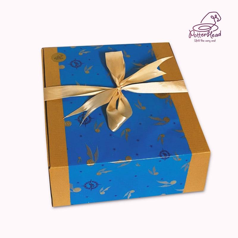 ოქროს სნიჩის შესაფუთი ყუთი
