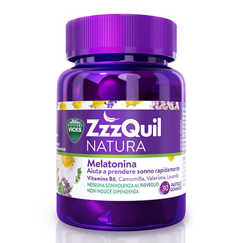 VICKS ZZZQUIL NATURA 30 caramelle