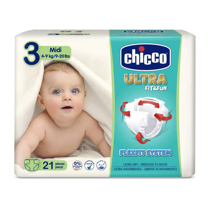 Pannolini Chicco Ultra Fit&Fun taglia 3