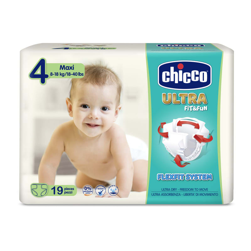Pannolini Chicco Ultra Fit&Fun taglia 4