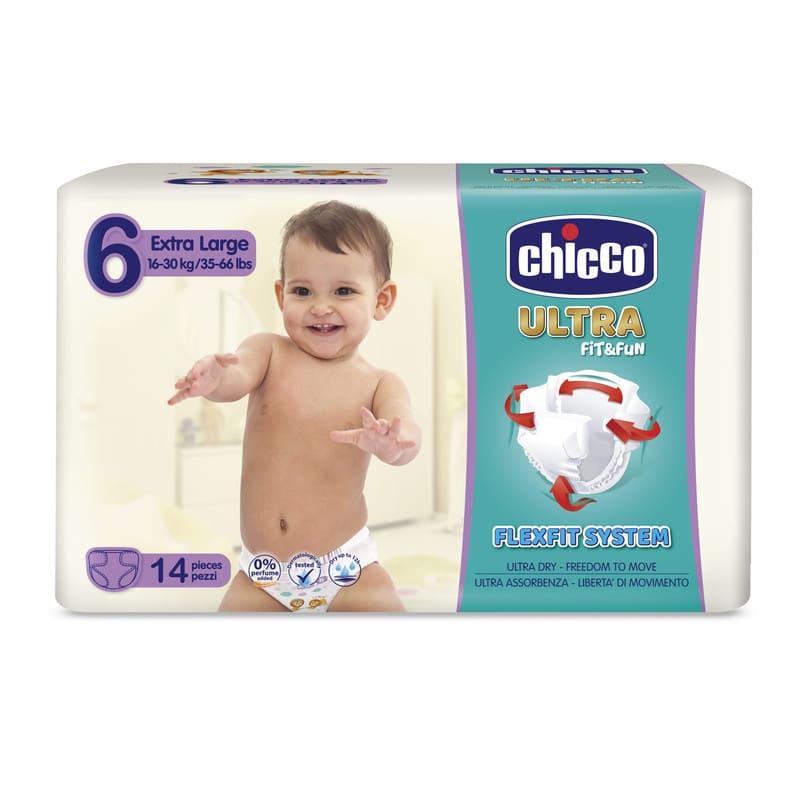 Pannolini Chicco Ultra Fit&Fun taglia 6