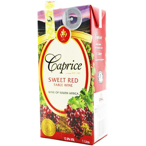 Caprice Red Sweet Tetra Pack 1L