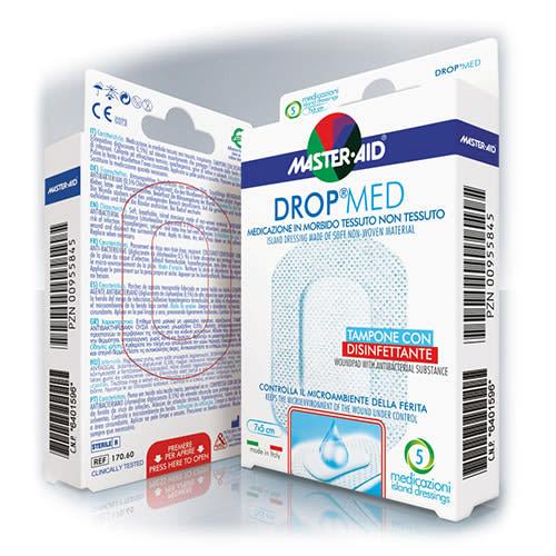 M-Aid Drop Med Cerotti Tnt 10X8