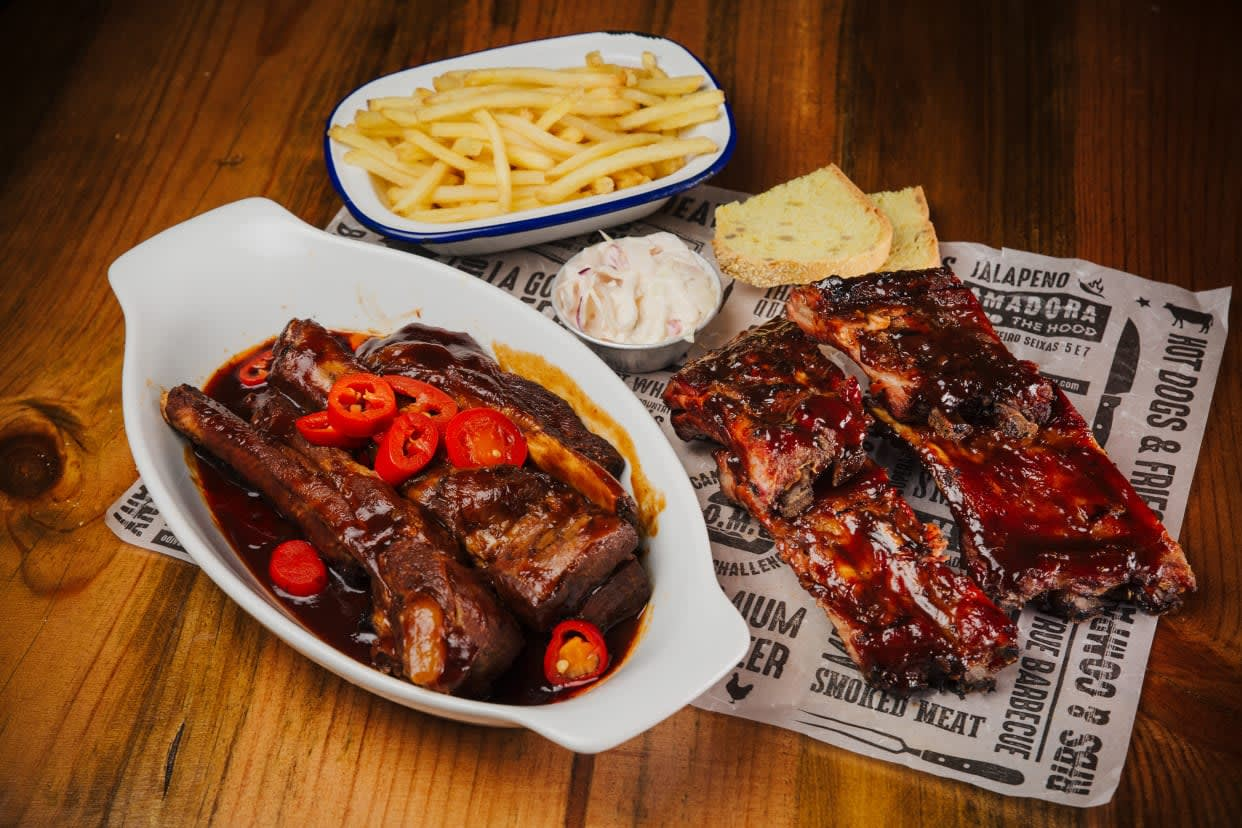 Hot Spare & Baby Back Ribs