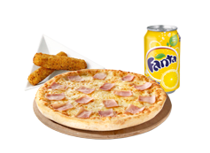 Menú individual pizza
