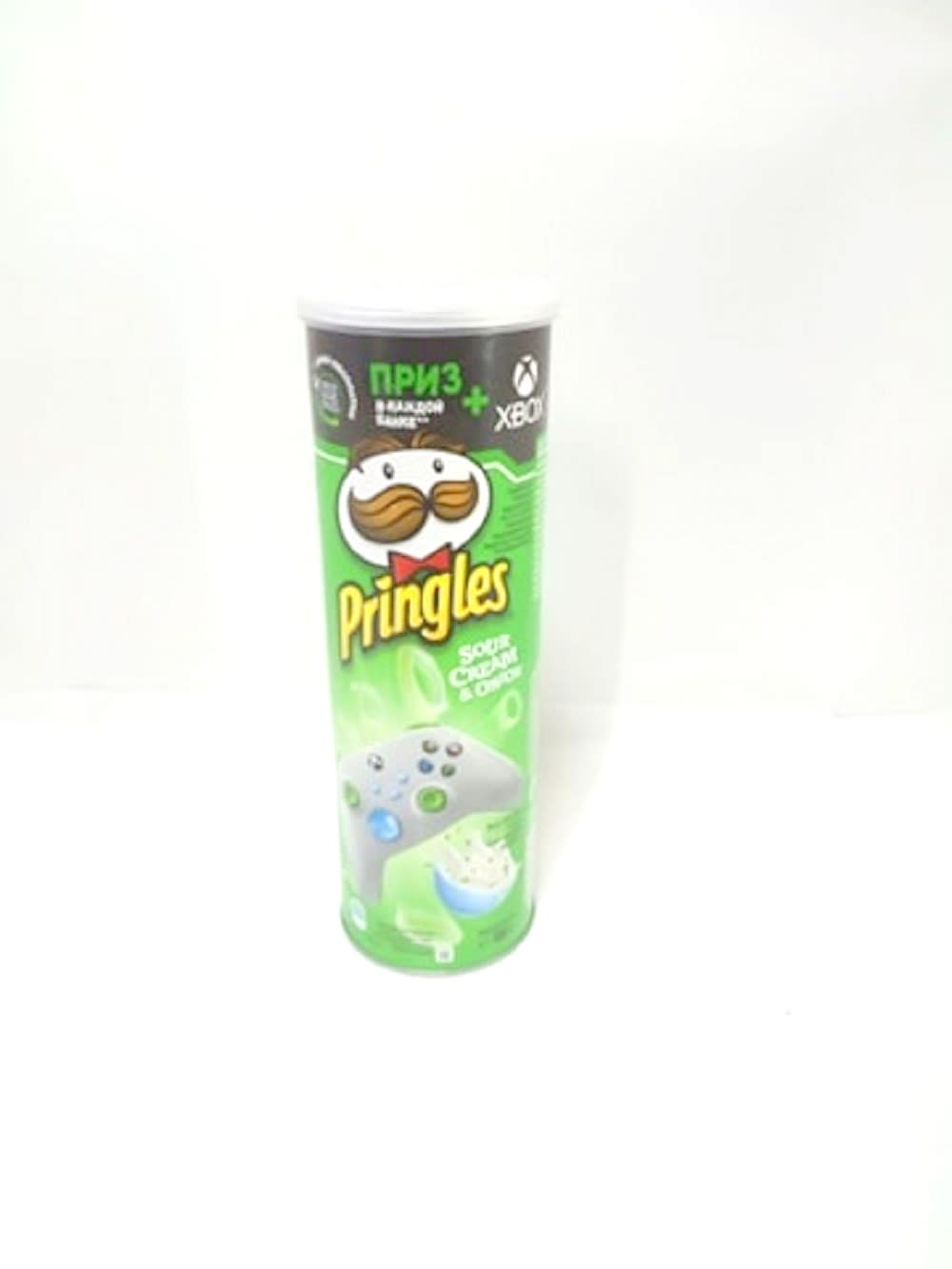 Pringles 165 გრ ნაღებით და ხახვით