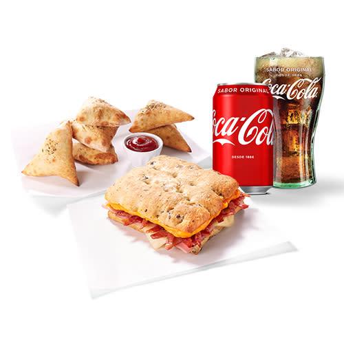 Menú individual sándwich