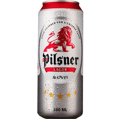 Pilsner Lager Can 500Ml