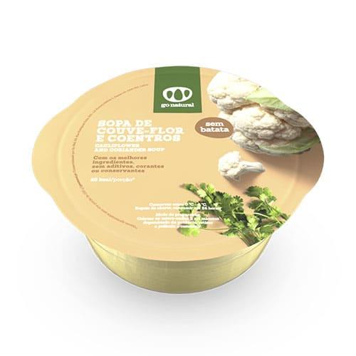 Sopa Familiar de Couve Flor 800ml