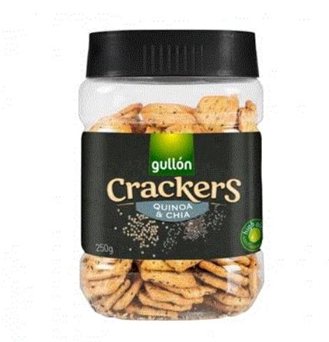 Gullon crackers quinoa si chia 250g