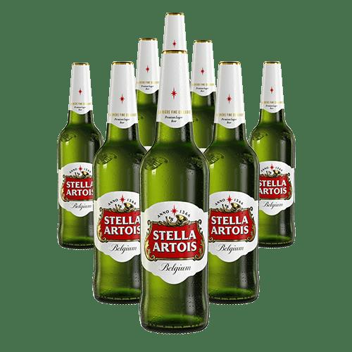 8 X Stella Artois sticla 660ml