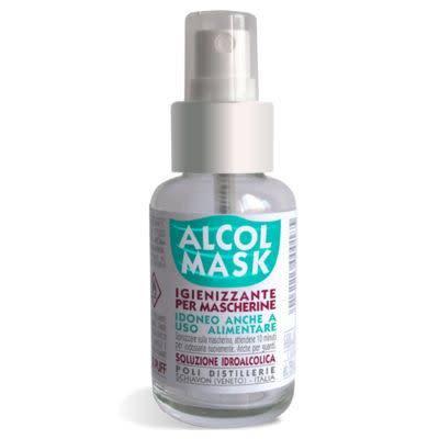 Alcol Mask 50Ml - Igienizzzante Mascherina
