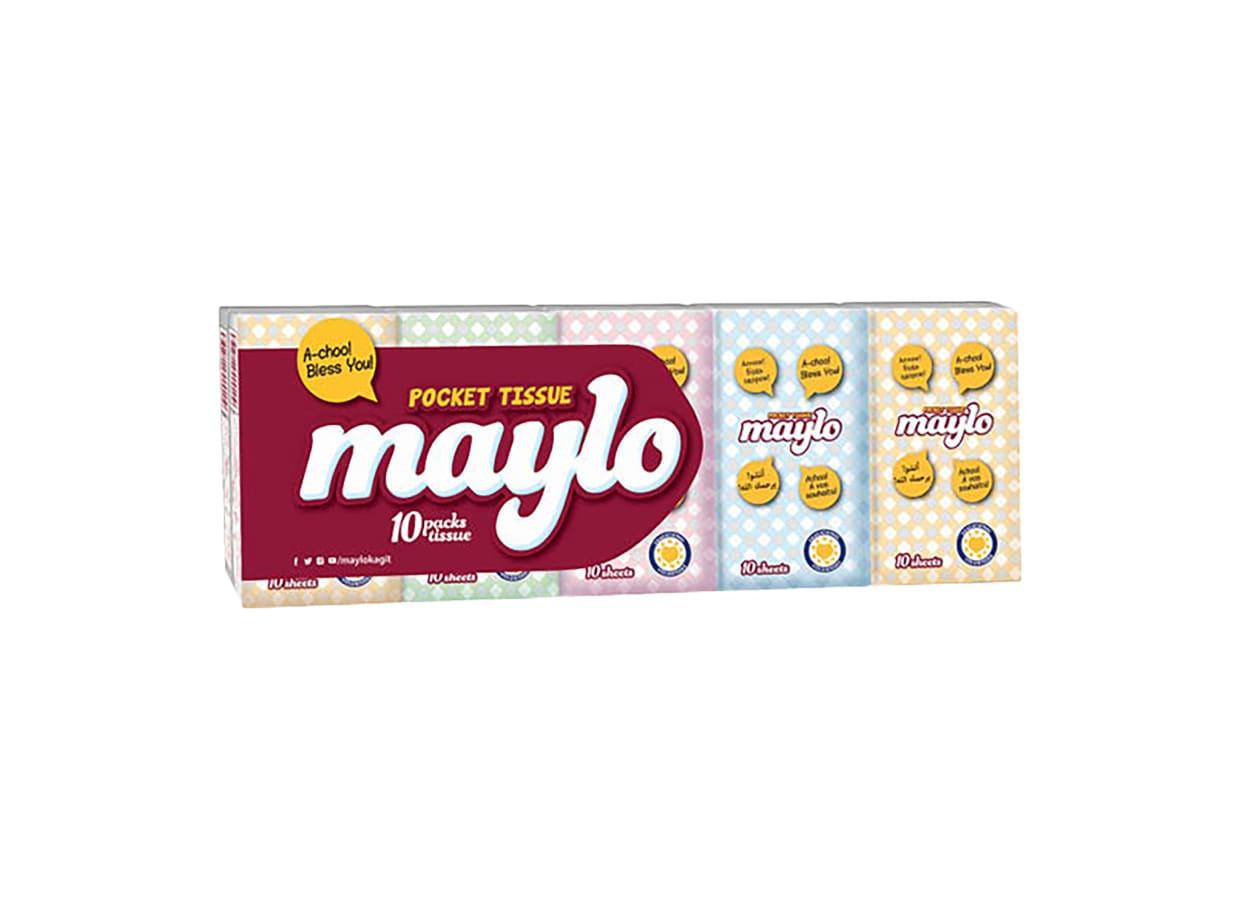 Кърпи носни Maylo (10х10бр) / 107326
