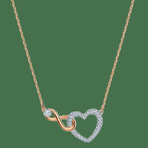 Collana Swarovski Infinity Heart - ID  5518865