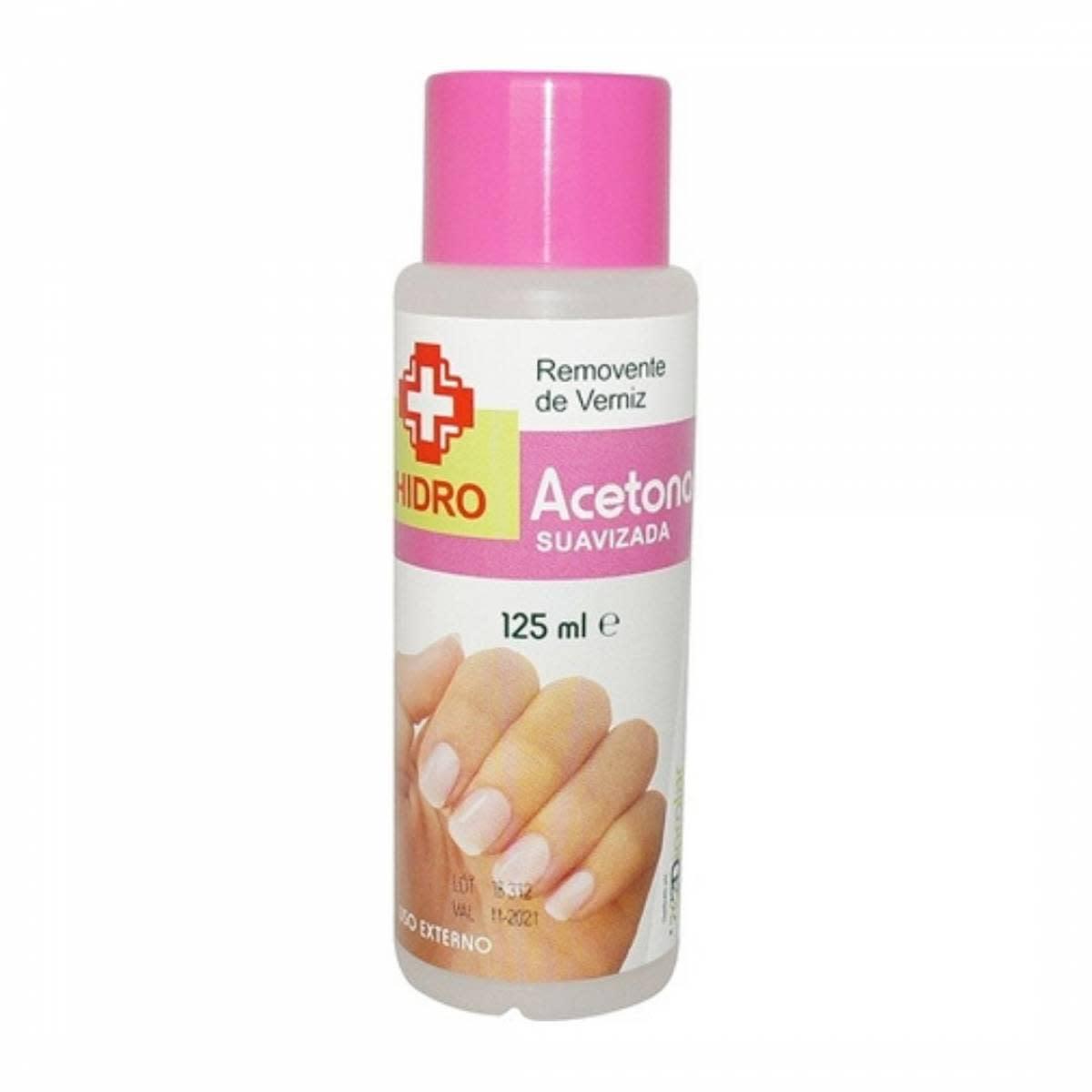 Acetona Hidro 125 Ml