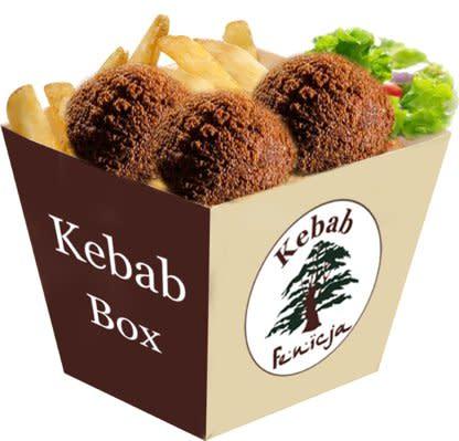 47- Falafel Mały Box