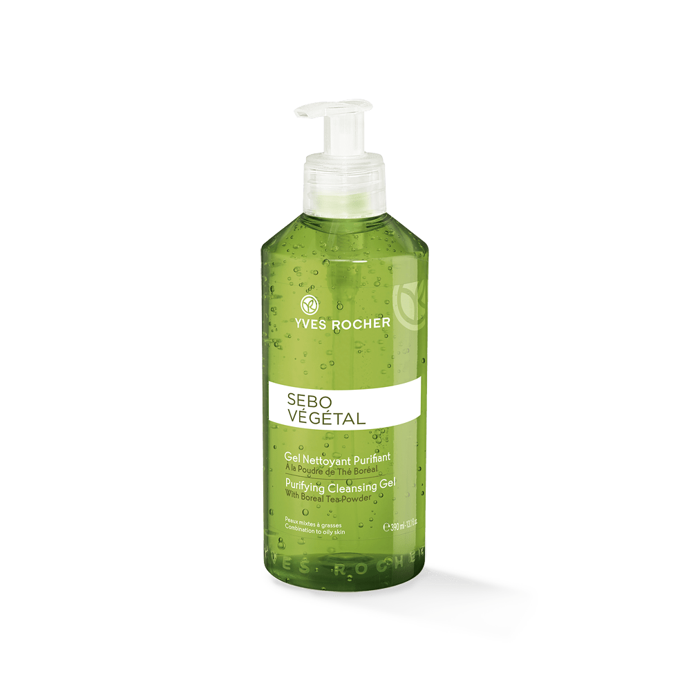 Purifying Cleansing Gel 390ml - Sebo Vegetal 2