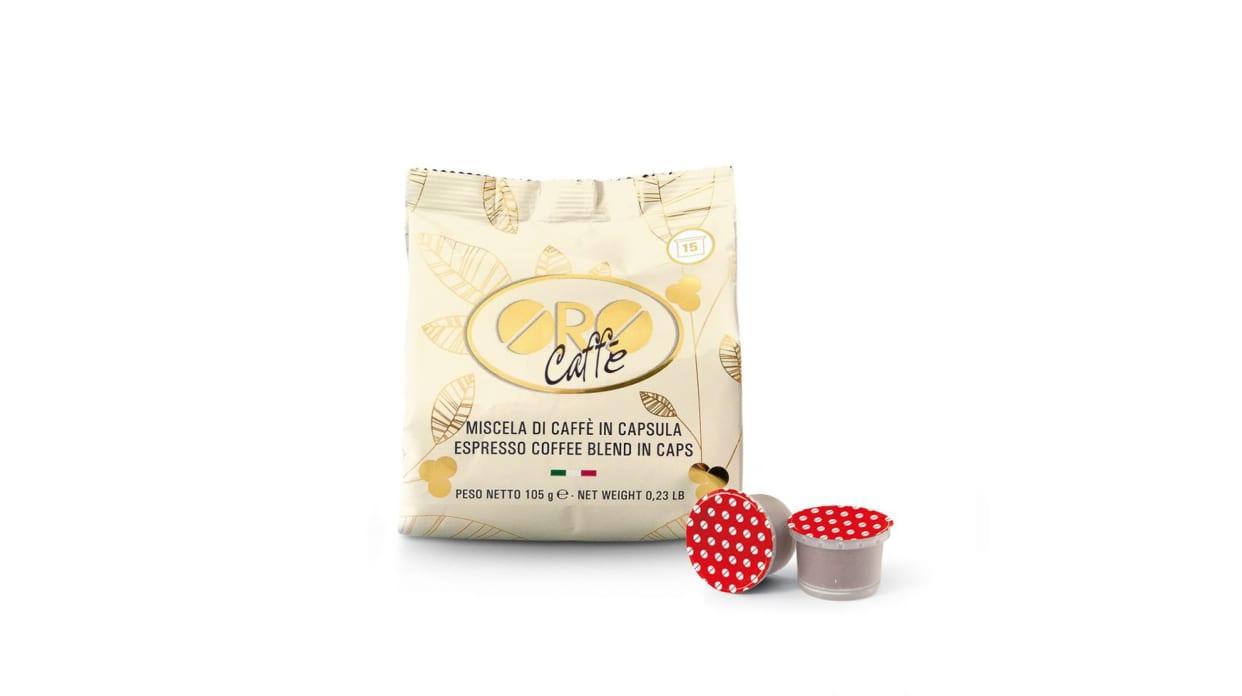 Oro caffe capsule prezioso