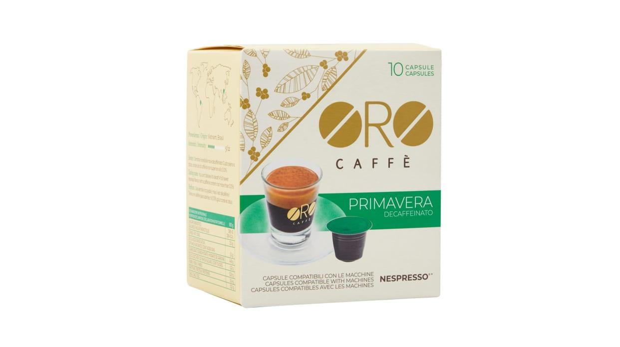 Oro caffe primavera decaffeinato