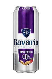 Bavaria mango passion flavoured malt drink can 500ml