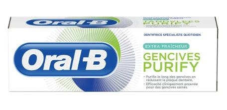 ORAL-B dentifrice Gencives purify extra fraîcheur