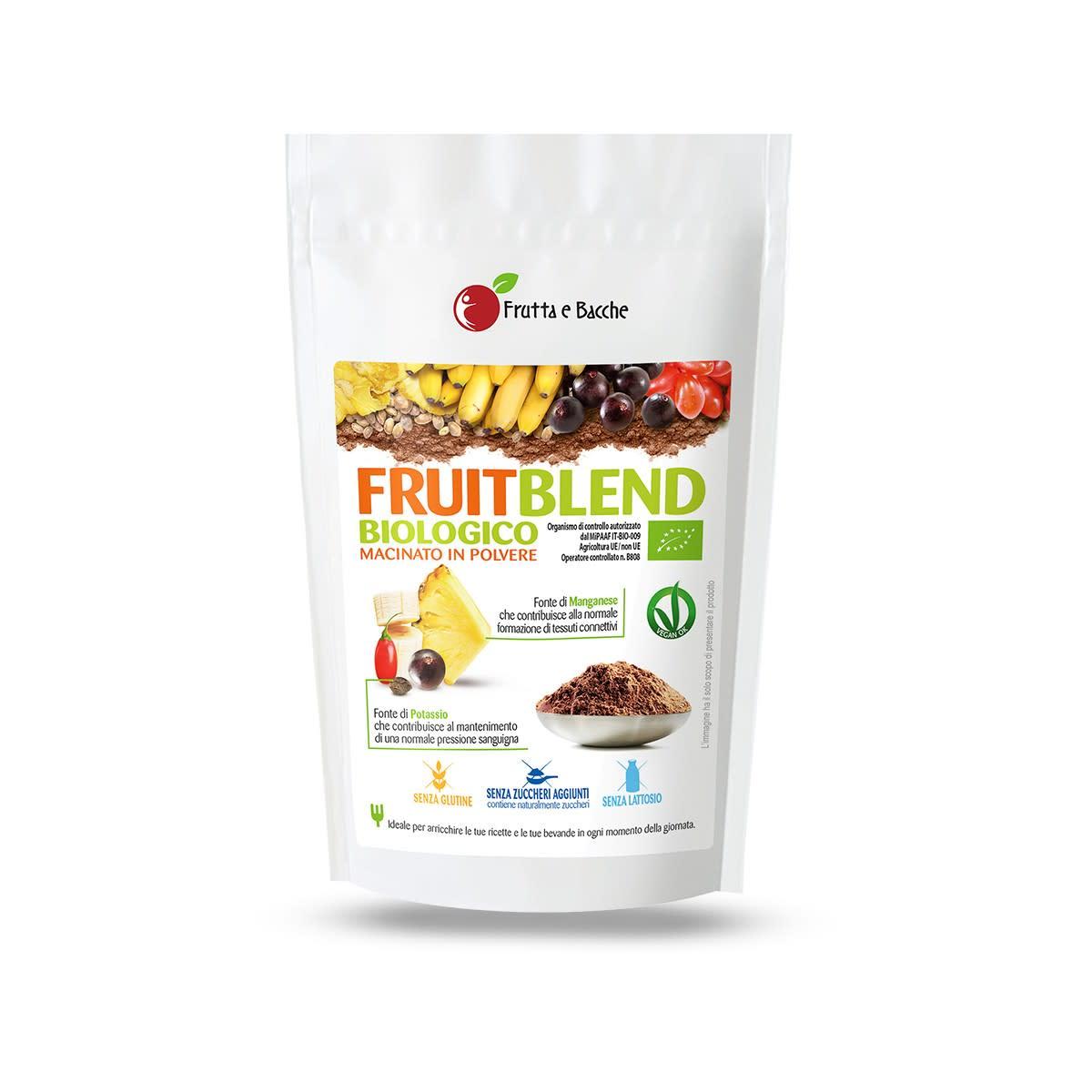 Frutta e Bacche Fruit Blend Mix Biologico