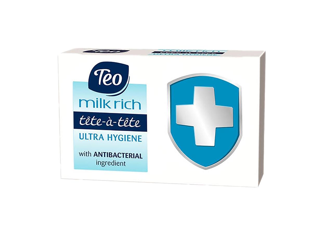 Сапун Тео Milk Rich Ultra Hygiene (100г) / 91145