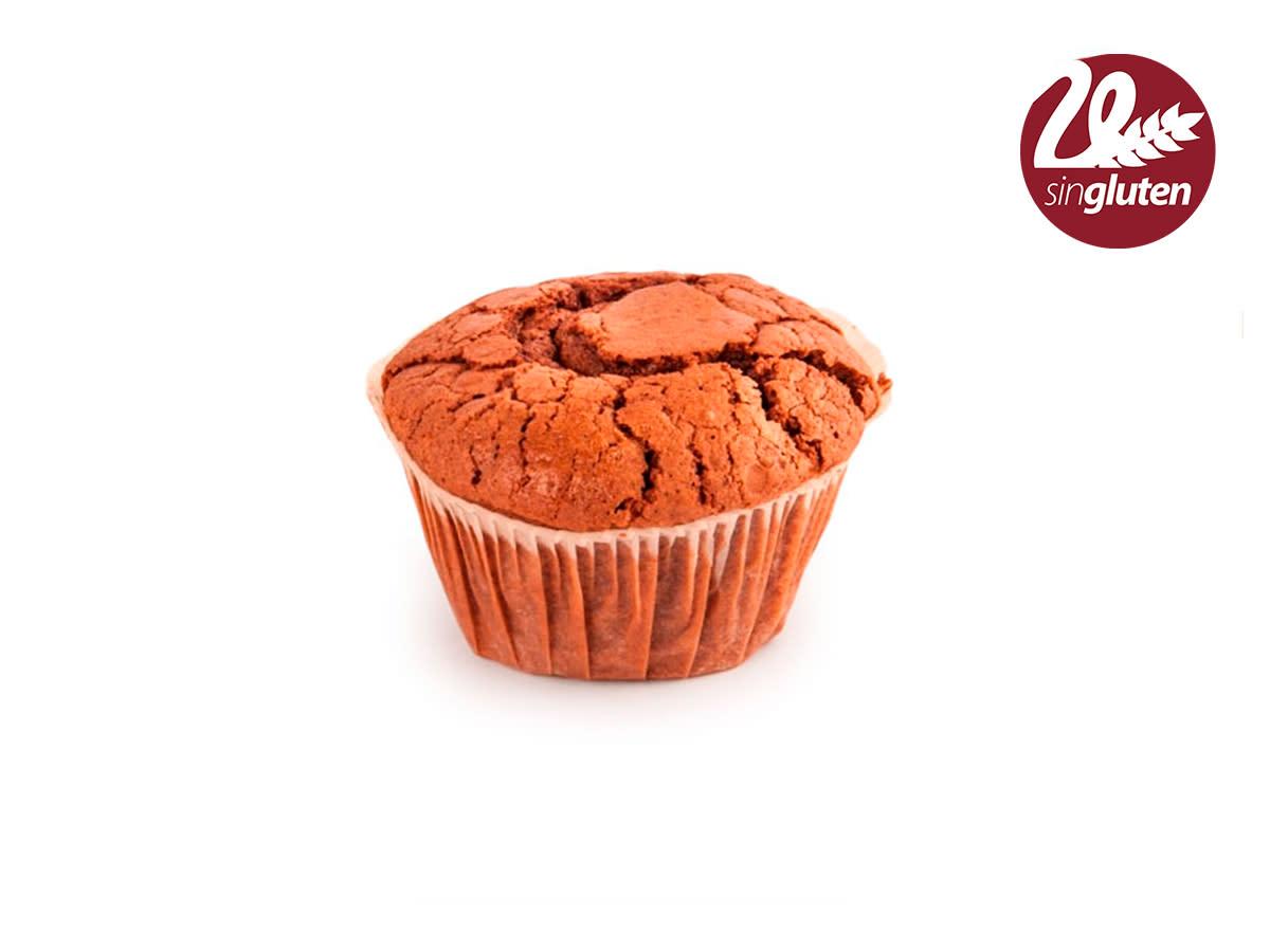 Muffin chocolate sin gluten
