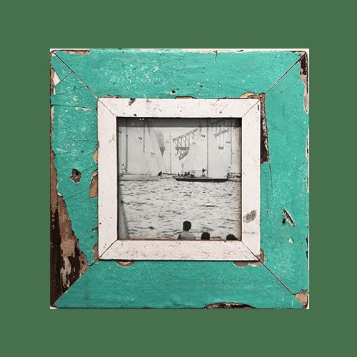 Cornice in legno recuperato 28x28 AB