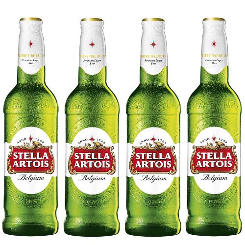 4 X Stella Artois sticla 330ml