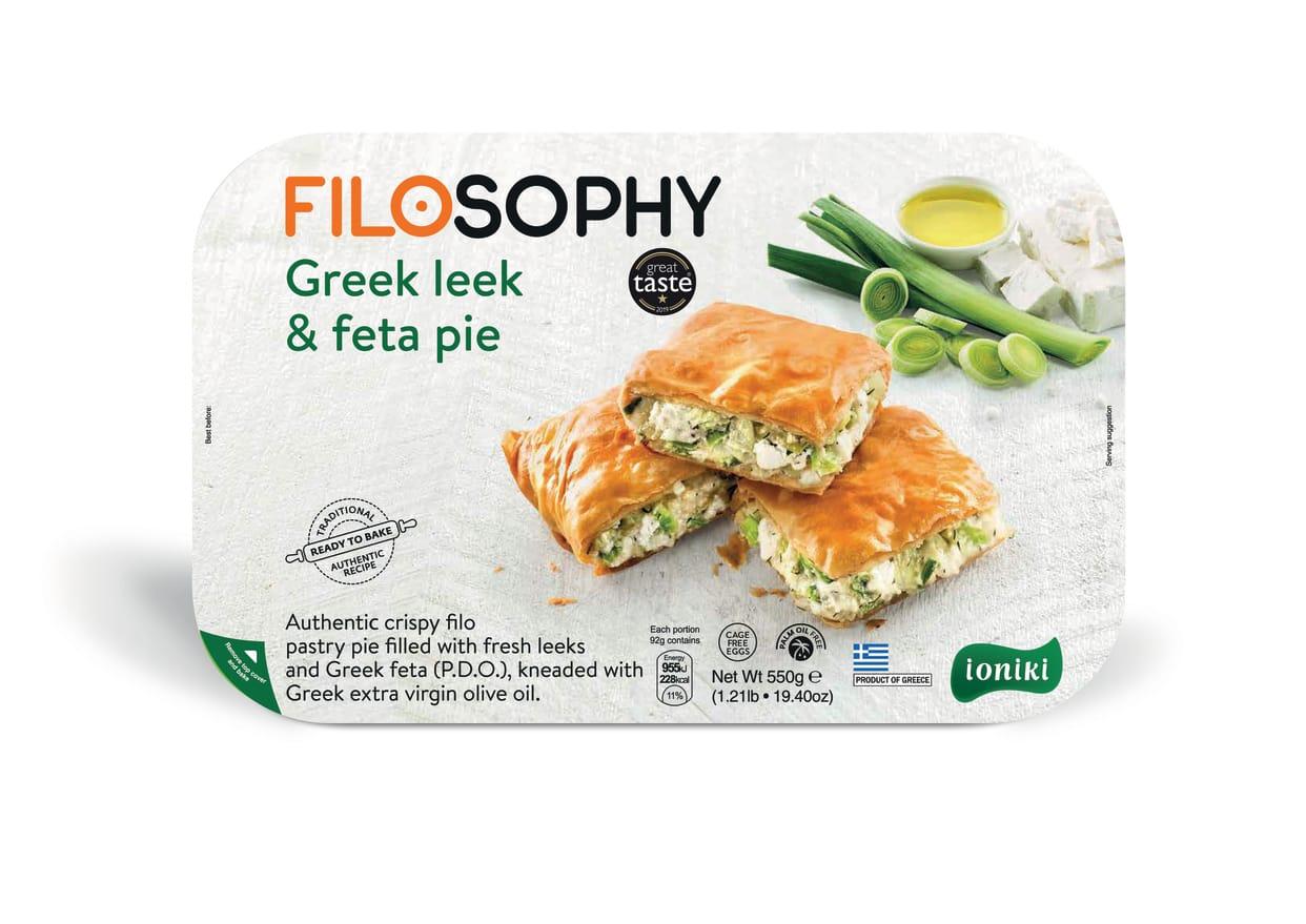 Filosophy Greek Leek & Feta Pie 550G