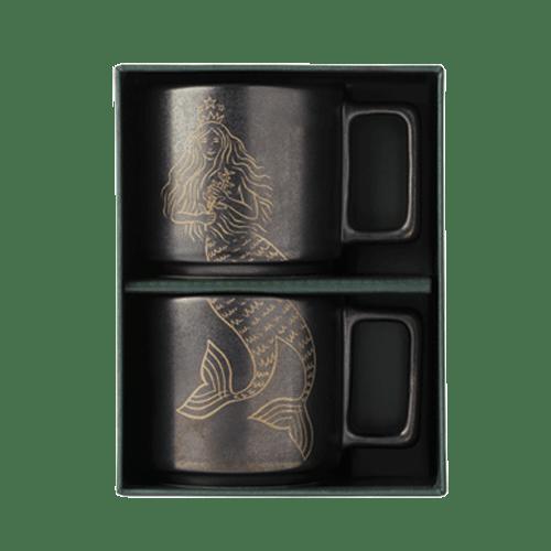 Zestaw 2 filiżanek do espresso Siren Demi Anniversary 3oz