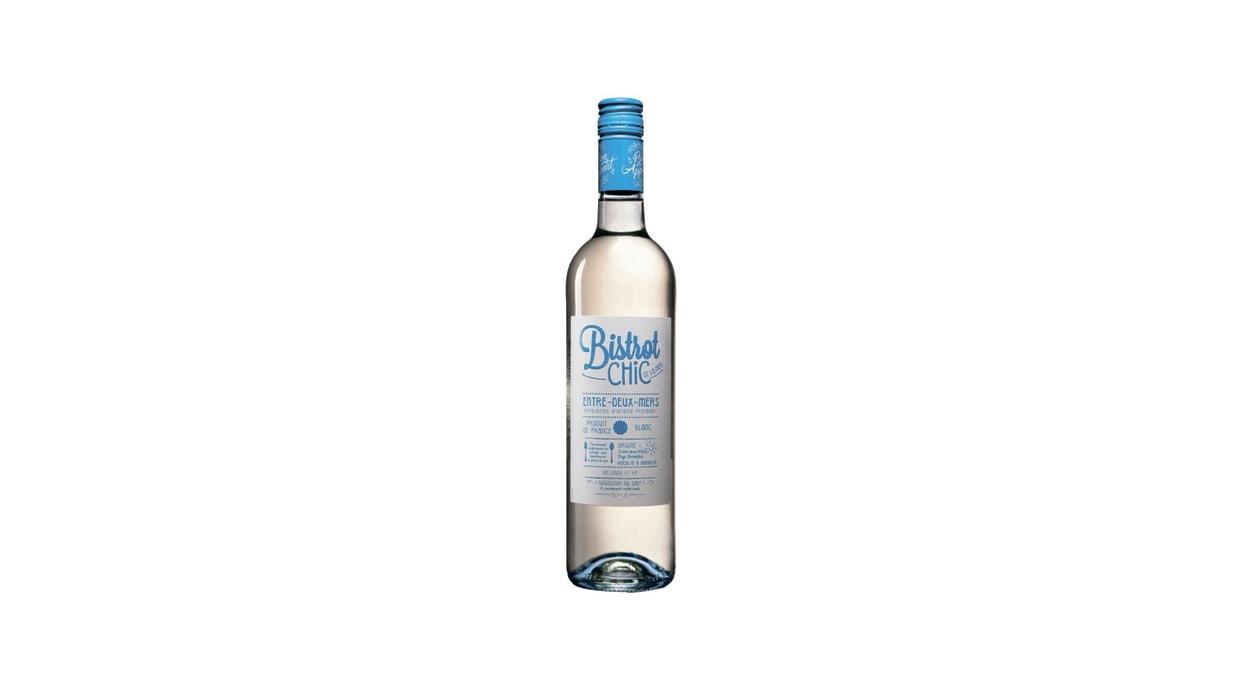 Вино Бістро Шик Антр де Мер біле сухе (0,75л)