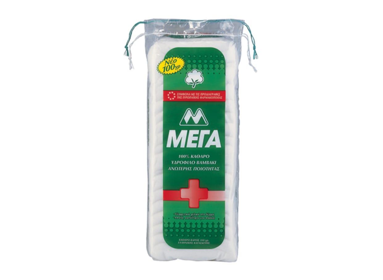 Мега медицински памук (100г) / 107353