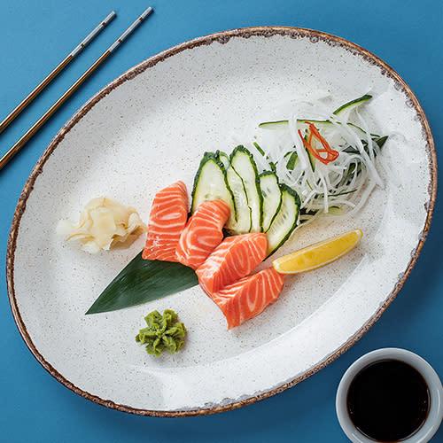 Сашимі з лососем (60/50г)
