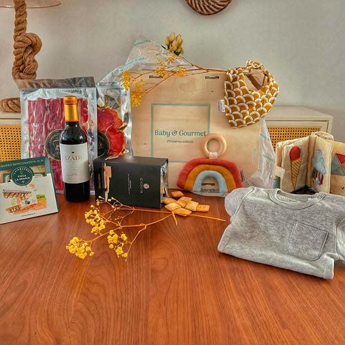 Caja Premium Bebé y Mamá Toscana