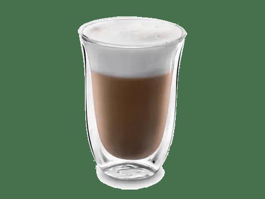 Café latté chocolat