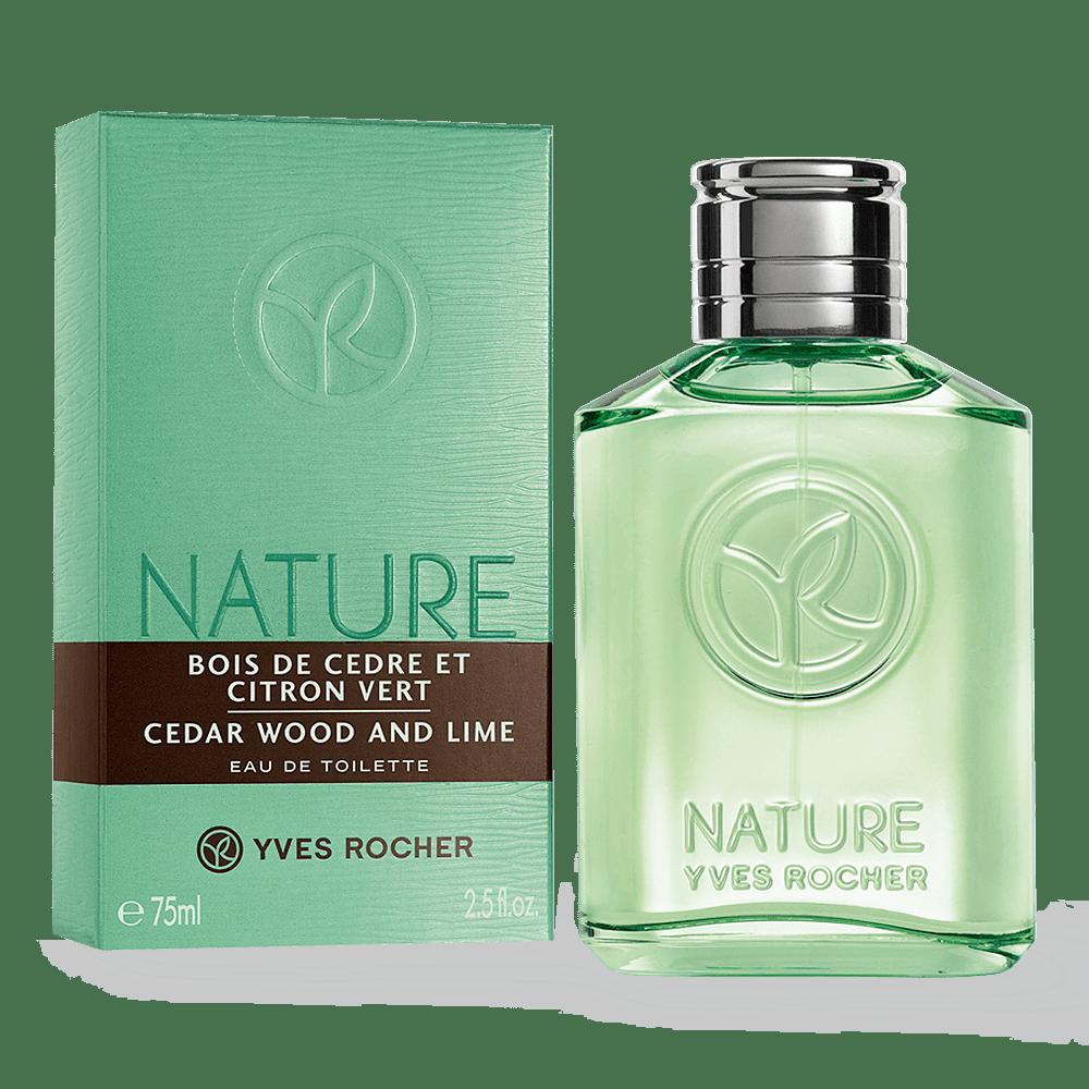 Cedar Wood & Lime Eau De Toilette 75ml - Nature Men