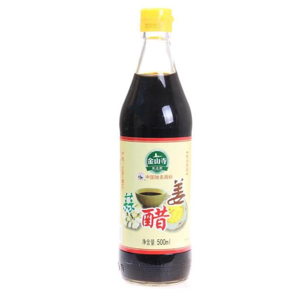 Vinagre con ajo y genjibre jinshansi (500 ml.)